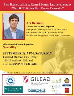 Ari Berman MLK flier