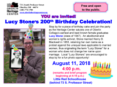 Lucy Stone Party