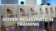 Voter Reg. Training