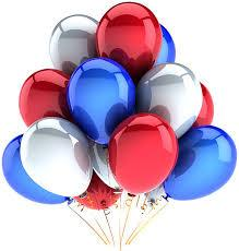 RWB balloons