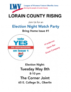 May 8th Election Watch Party