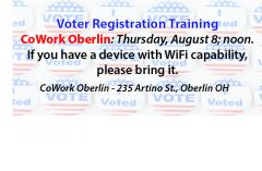 Voter Reg. Training
