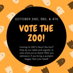 zoo voter drive okc oct2020