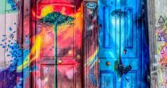 Painted Doors