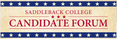 Saddleback College Candidate Forum