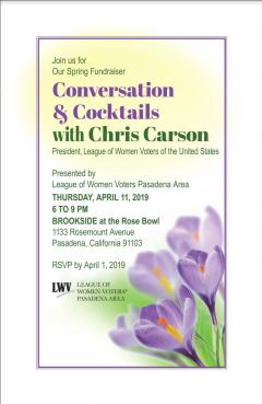 Conversation W Chris Carson Flyer 040619