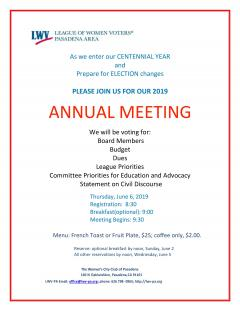 Annual Planning Meeting 2019