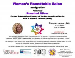 Women's Roundtable Immigration