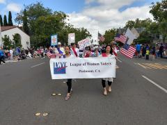 LWVP at 4th of July Parade 2018