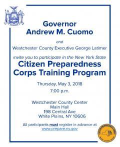 Citizen Preparedness Corps Training Program