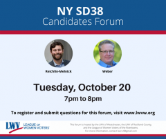 Candidate Forum NYSD38