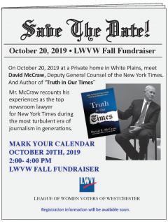 LWVW Fall Fundraiser