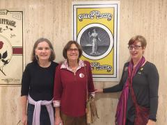 LWV Geneva members tour Women's Suffrage exhibit in Albany, NY
