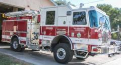 San Bernardino Fire Truck