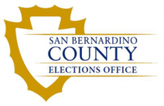 San Bernardino Registrar of voters logo