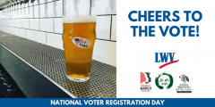 Cheers to the vote