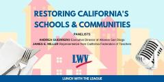 Restoring California's Schools & Communities