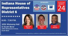 Indiana House District 6 Primary Debate