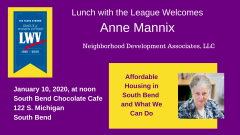 Jan 2020 Lunch with the League