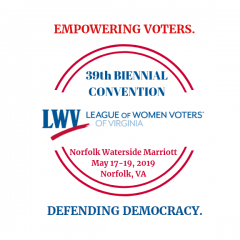 LWV-VA 39th Biennial Convention Logo