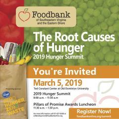 Invitation to 2019 Hunger Summit