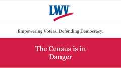 Take Action: The Census is in Danger