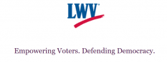 logo of LWV for Empowering voters