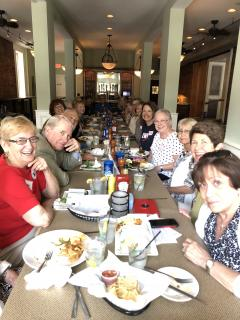 League members attend previous Fun Lunch