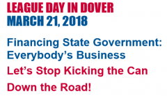 League Day in Dover March 21, 2018