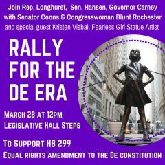 Poster for Rally for the DE ERA