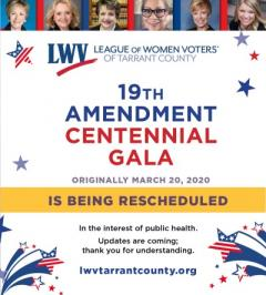 19th Amendment Centennial Gala - Postponed