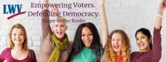 Cheering Women Empowering Voters Defending Democracy
