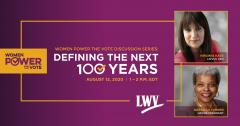 Women Power the Vote Discussion Series: Defining the Next 100 Years
