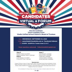 VUSD Board of Trustee Candidate Forum