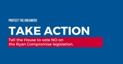 Take Action No on Ryan Compromise, immigration, Advocacy