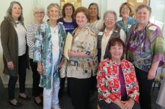 LWV Santa Cruz County board members photo from June 2018