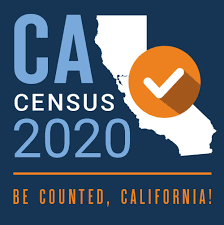 logo for CA 2020 Census