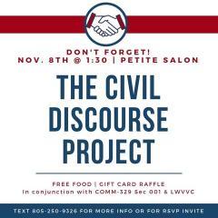 Civil discourse project with CSUCI