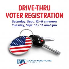Drive-thru voter registration