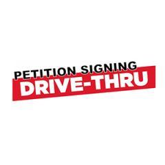 Petition Signing Drive-Thru Thumbnail