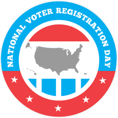 National Voter Registration Day logo