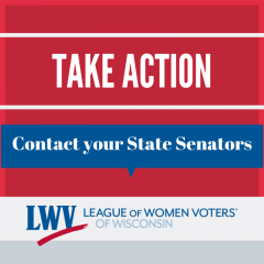Take Action Contact State Senators