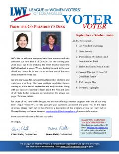 Voter page