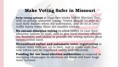 Safer Voting