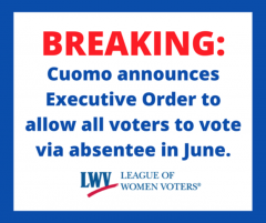 Absentee voting allowed for all