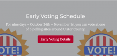 Ulster Co voting info