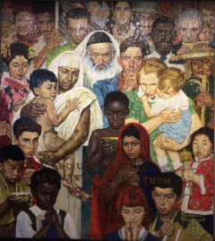 We the Peoples by Norman Rockwell