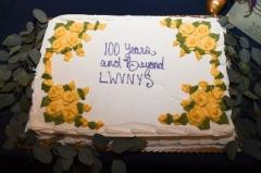 LWVNYS 100th Anniversary Cake