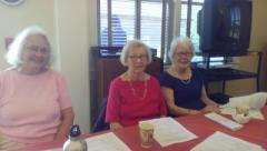Sally Davis, Ginny Higgins, and Lillian Nelligan