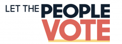 Let the People Vote Graphic